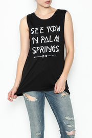 Social decay Palm Springs Tee - Front cropped