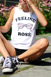 Social decay Feeling Rose Tank - Product Mini Image