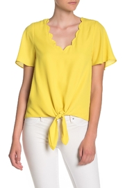 Socialite Front Tie Top - Product Mini Image