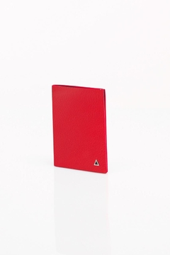 ANONYME PARIS Leather Red Wallet - Product List Image