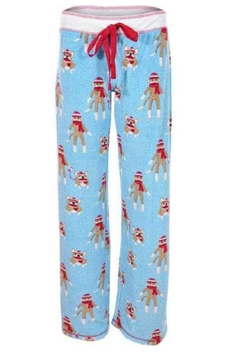 PJ Salvage Sock Monkey Pajamas - Product List Image