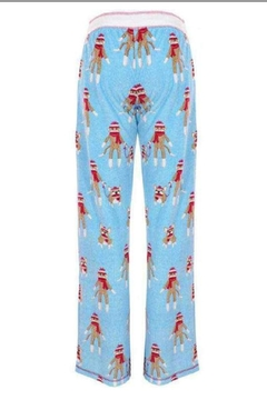PJ Salvage Sock Monkey Pajamas - Alternate List Image