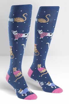 Shoptiques Product: Business Cat Dual Socks