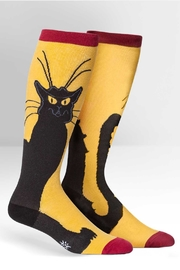 Sock it to me Chat Noir Socks - Product Mini Image