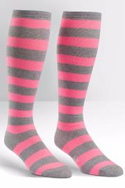 Sock it to me Fluorescent Stripe Socks - Product Mini Image