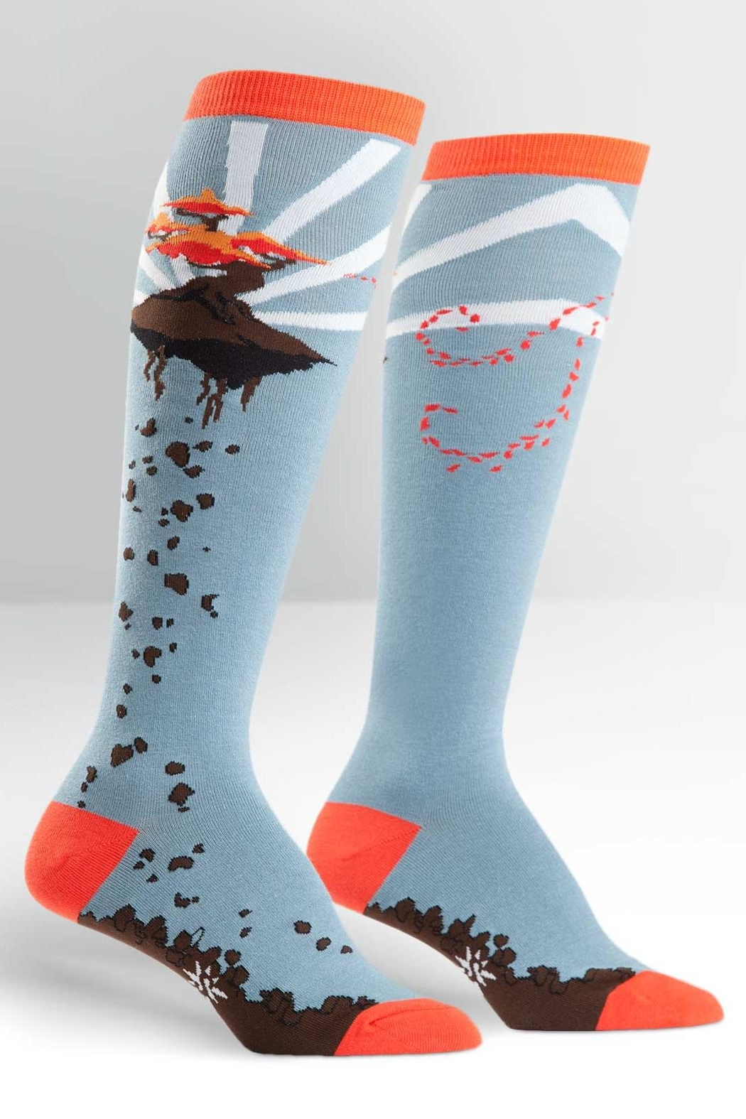 Sock it to me Flying Bonsai Socks - Front Cropped Image