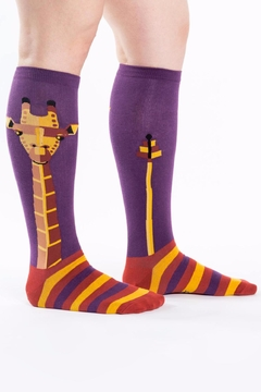 Sock it to me Giraffe Socks - Product List Image