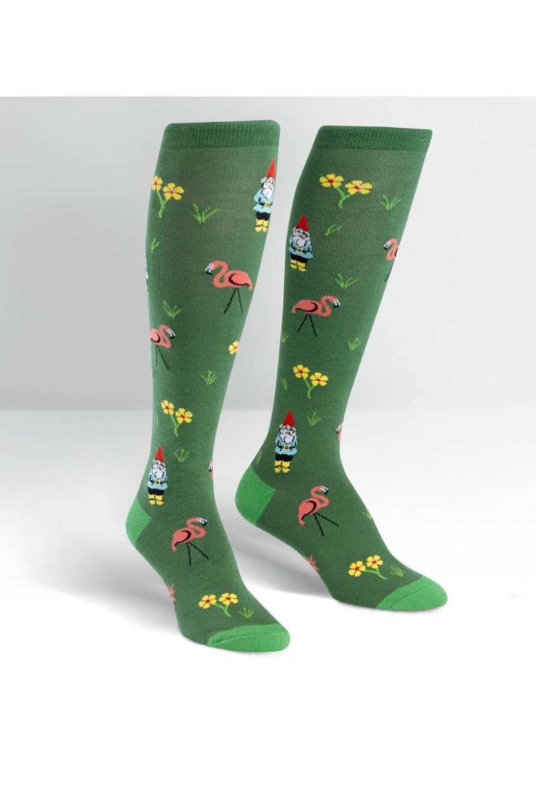 Sock it to me Lawn Art Knee-Socks - Main Image