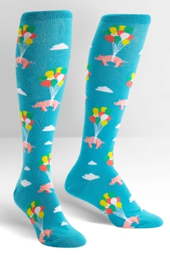 Shoptiques Product: Pigs Fly Socks