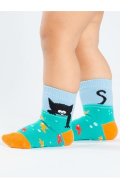 Shoptiques Product: Toddler Fish Socks