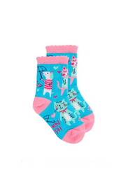 Stephen Joseph Socks - Cat - Product Mini Image