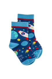 Stephen Joseph Socks - Space - Front cropped