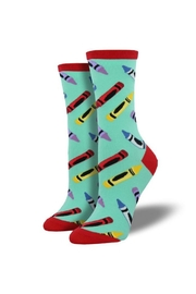 Socksmith Crayon Socks - Front cropped