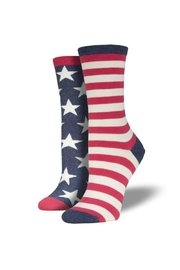 Socksmith Flag Socks - Front cropped