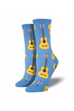 Shoptiques Product: Guitar Calf Socks