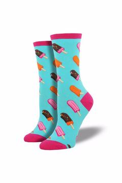 Shoptiques Product: Ice Cream Pop Socks
