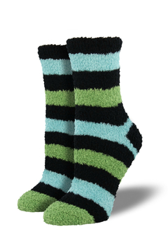 Socksmith Warm and Fuzzy Women Stripes - Product List Image