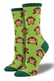 Socksmith Women's Monkey Socks - Front cropped