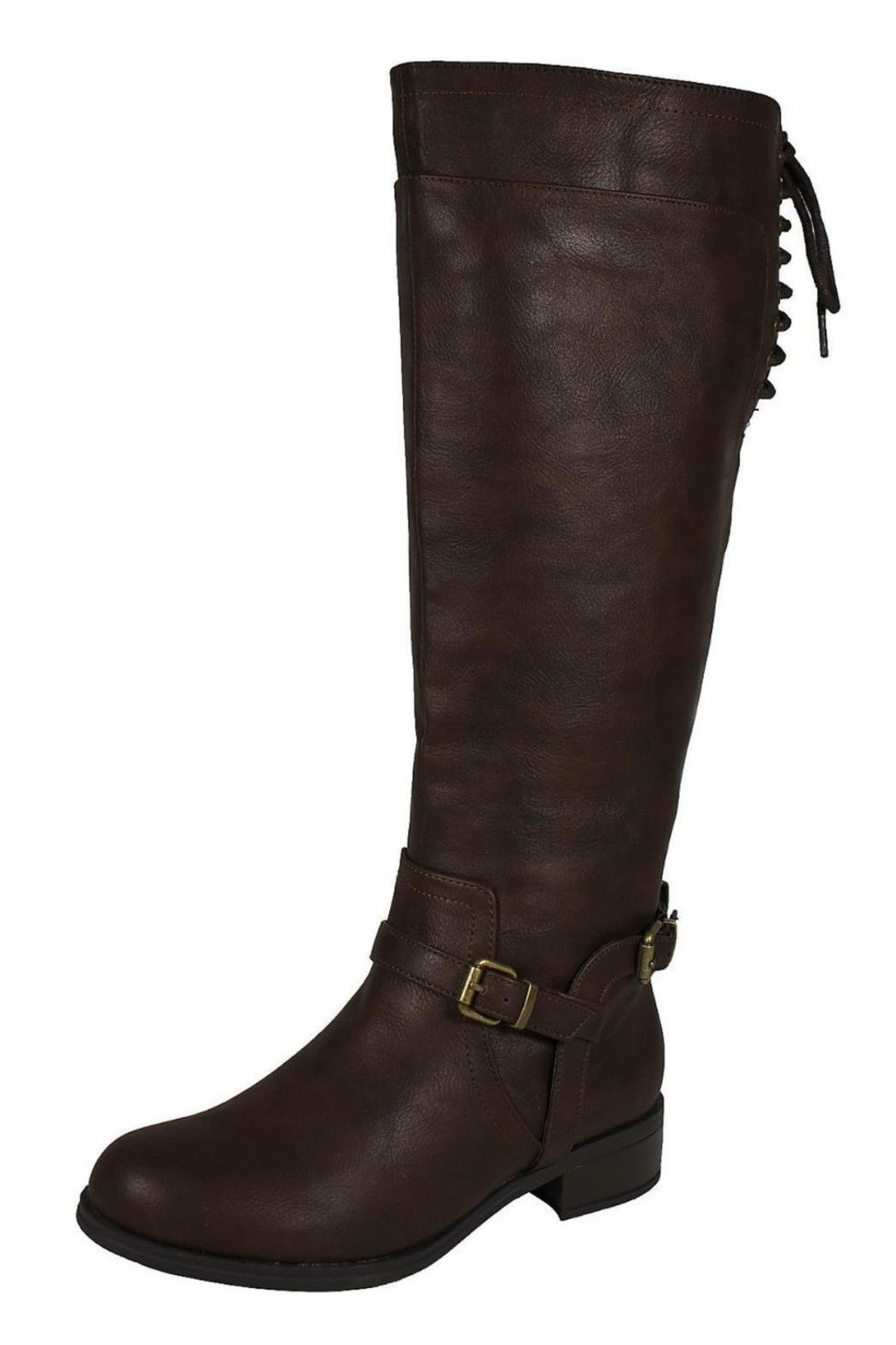 Soda Boss Riding Boot - Front Cropped Image