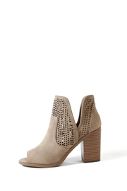 Soda Cathy Peep Toe Bootie - Front cropped