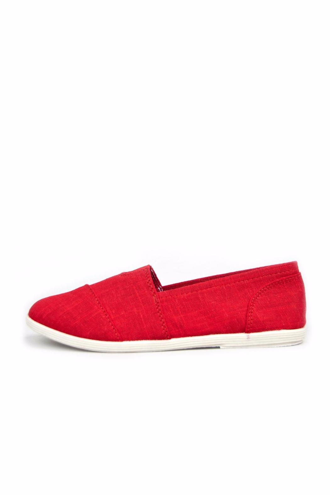 Soda Classic Canvas Flats - Front Cropped Image