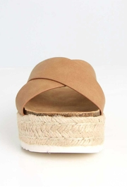 Soda Coky Espadrille Slide - Front full body