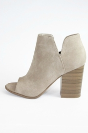 Soda Open Toe Booties - Front cropped