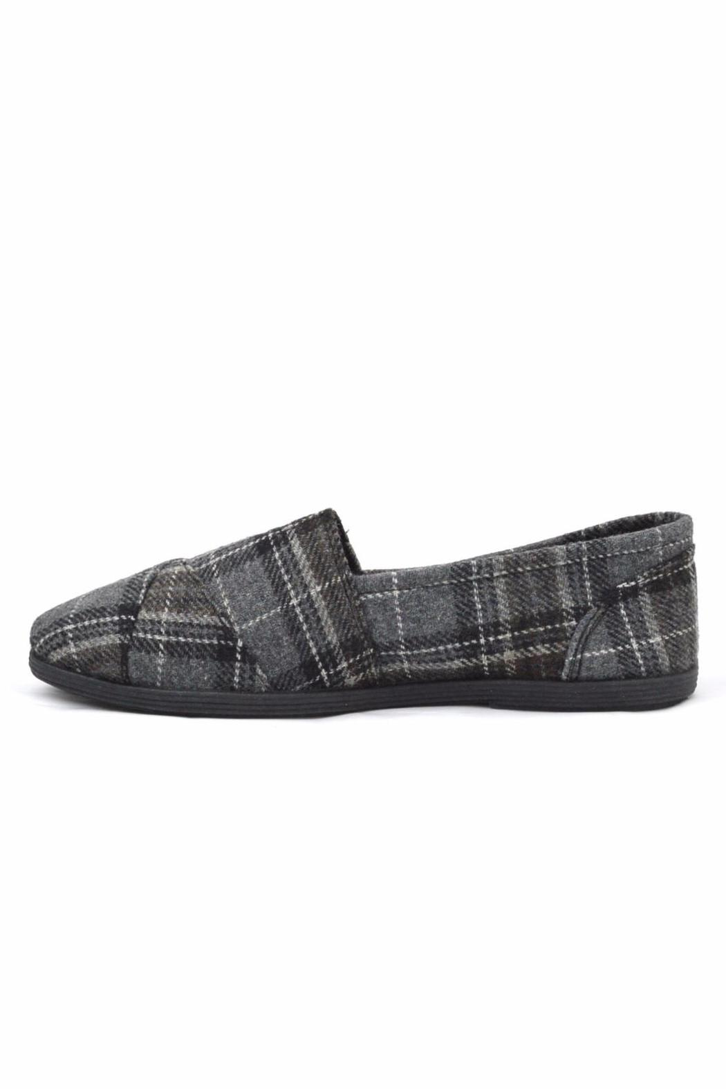 Soda Plaid Flat - Front Cropped Image