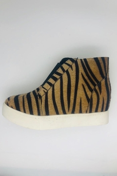 Soda Tiger Wedge Sneakers - Product List Image
