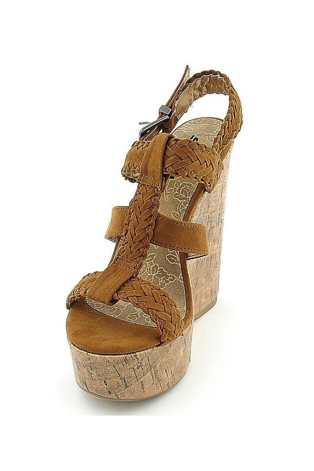 Soda Triple Braided Wedge - Front Full Image