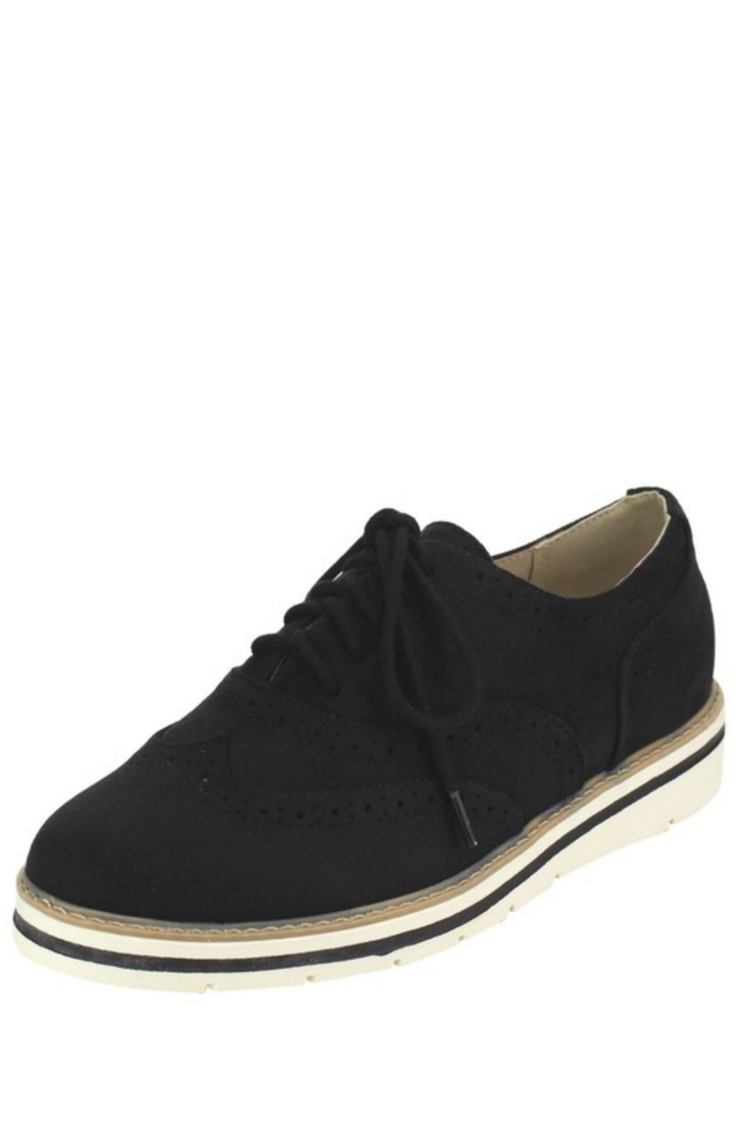 Soda Winged Wedge Oxfords - Front Cropped Image