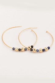 Gorjana Sodalite Hoop Earrings - Product Mini Image