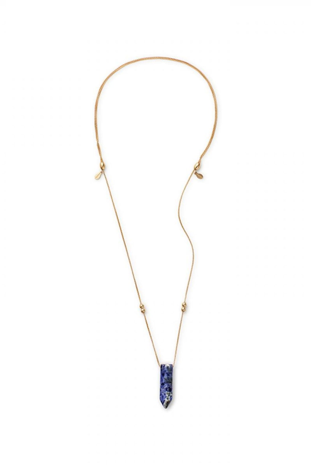 Alex and Ani Sodalite Pendant Necklace - Front Full Image