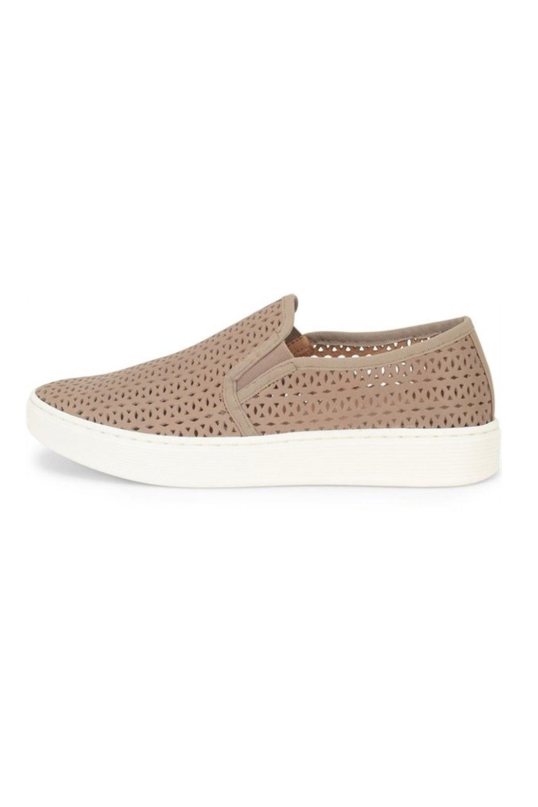 Sofft Beige Perforated Sneaker - Main Image