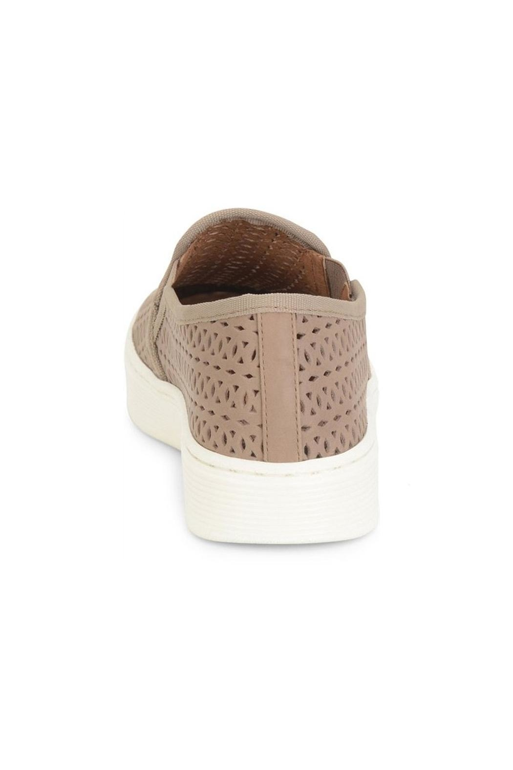 Sofft Beige Perforated Sneaker - Front Full Image