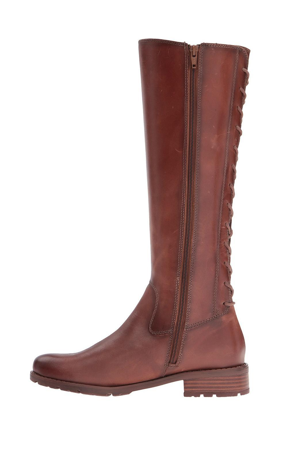 Sofft Sharnell Lace Back Boot - Side Cropped Image