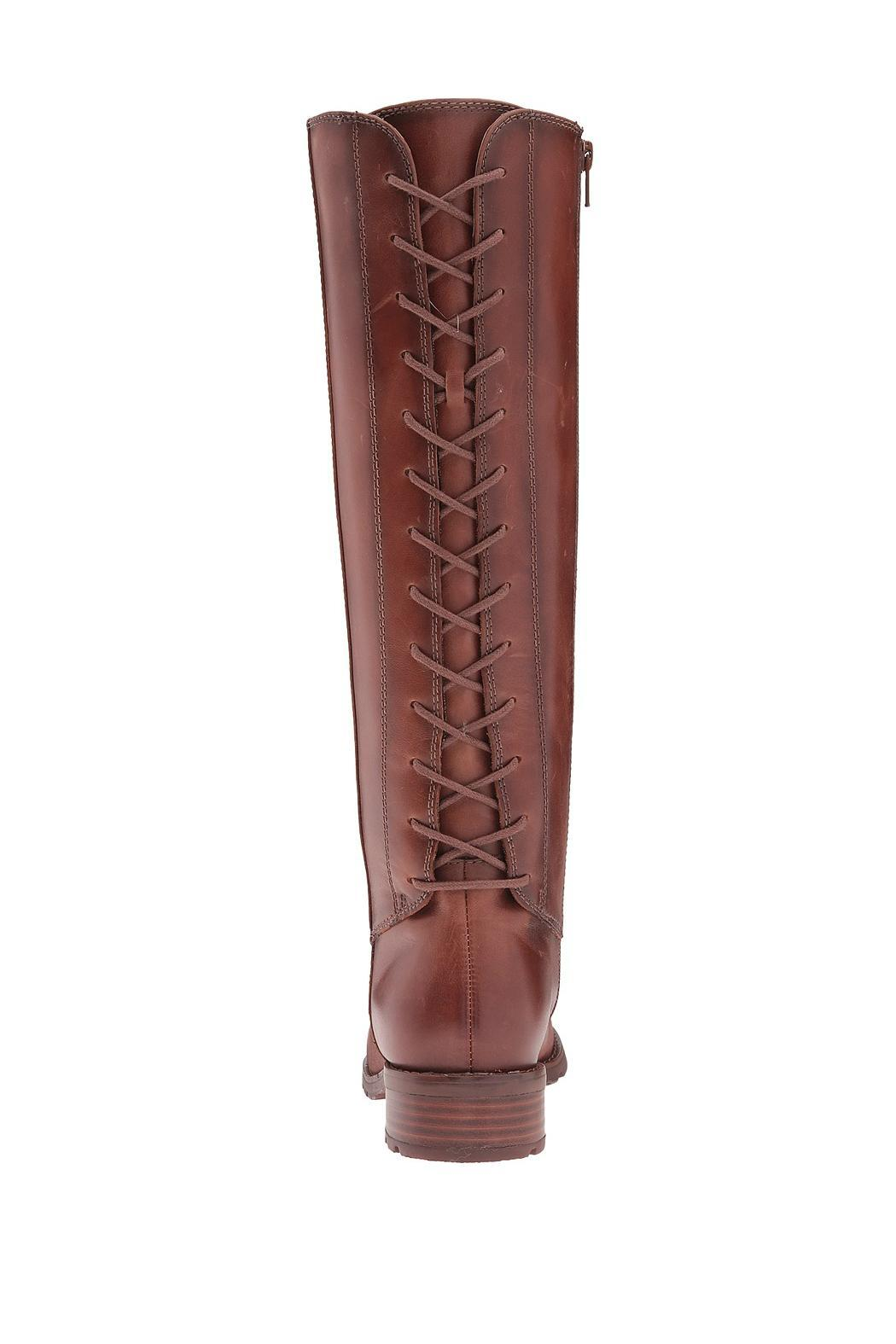 Sofft Sharnell Lace Back Boot - Front Full Image