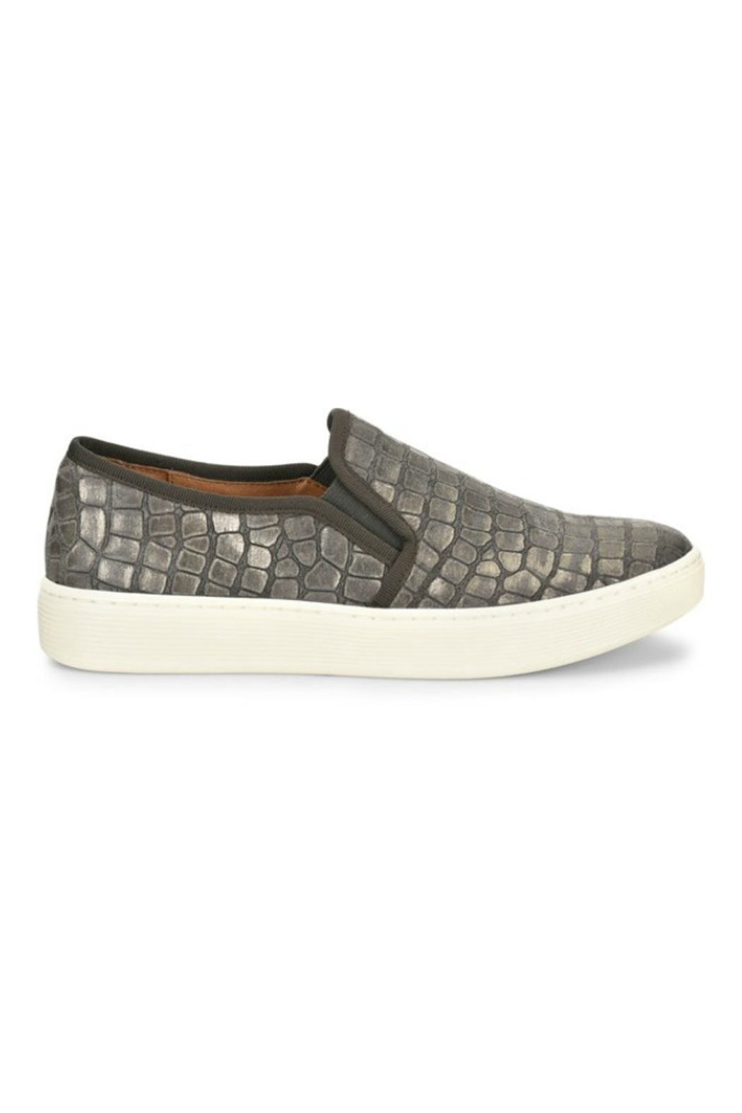 Sofft Somers Slip on in Grey Nubuck - Main Image