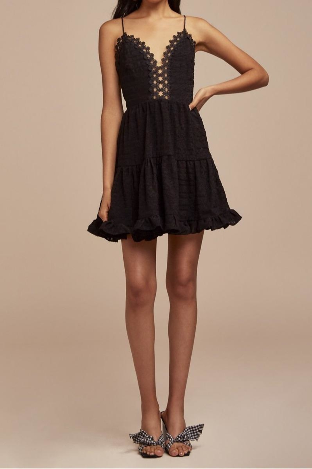 Finders Keepers Sofia Dress - Front Cropped Image