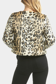 Tart Collections Sofia Faux Leopard Jacket - Other