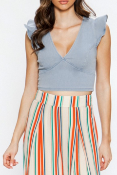 d44bd82d464 ... Flying Tomato Sofia Ruffle Sleeve Crop Top - Product List Placeholder  Image