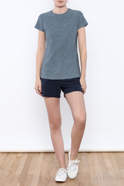 Sofibella Cap Sleeve Tee - Front full body