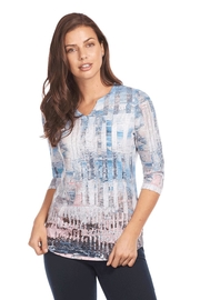 FDJ French Dressing Soft Abstract Top - Product Mini Image