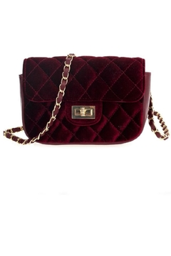 joseph d'arezzo Soft-As-Velvet Purse - Alternate List Image