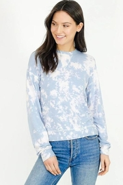 Six Fifty Soft Bleached Pullover Top - Product Mini Image