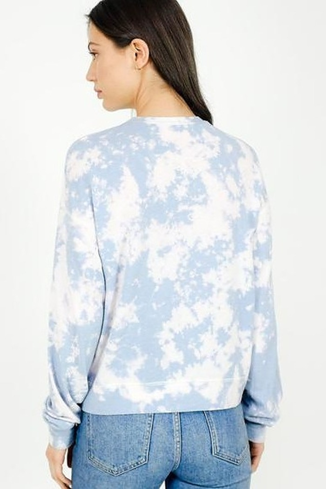 Six Fifty Soft Bleached Pullover Top - Side Cropped Image