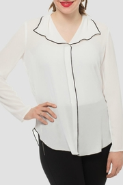 Joseph Ribkoff Soft Blouse - Product Mini Image