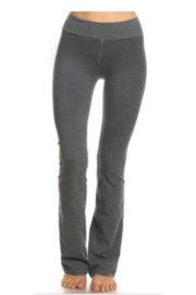 T Party Soft Brushed Boot Cut Yoga Pants - Product Mini Image