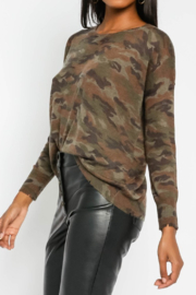 Olivaceous  Soft Camo Sweater - Product Mini Image