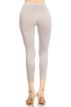 sassy Bling Soft Capri Leggings - Alternate List Image